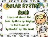 Solar System Song Lyrics (Sun, Seasons, Orbit, Constellations)