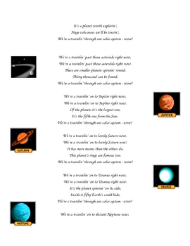 Solar System Song