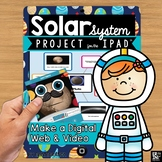 Solar System Space Project on the iPad