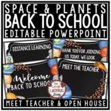 Meet the Teacher Template Editable: Back to School Night,