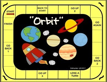 Solar System Speech Therapy Printable Pack