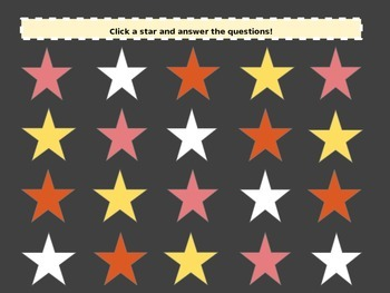 Solar System Star Pop Interactive Game (Australian Curriculum)