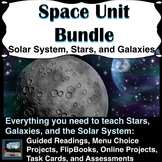Space Unit Bundle (covering the solar system, stars, and g