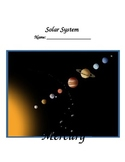 Solar System Student Fact Journal