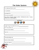 Solar System Student Notes-Fill In