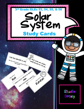Solar System Flash Cards