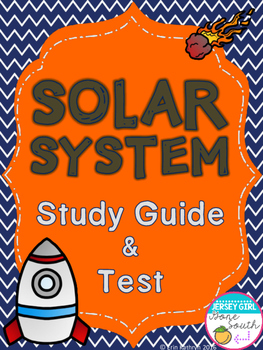 Solar System Study Guide & Test