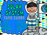 Solar System Task Cards: Planets, Moon Phases, Earth Rotat