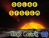 Solar System Task Cards for space and planets review