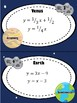Solar System Task Cards: Systems of Equations