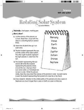 Solar System (Ten-Minute Activities)