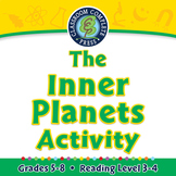 Solar System: The Inner Planets Activity - NOTEBOOK Gr. 5-8