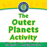 Solar System: The Outer Planets Activity - MAC Gr. 5-8