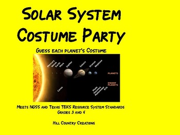 Solar System:..The Planets' Costume Party