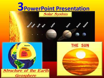 solar system planets the sun the earth powerpoint presentation