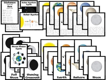 Solar System Unit ~ Literacy and Science Activities