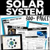 Solar System Unit - Planets, Stars, Moon Phases   Print & Digital