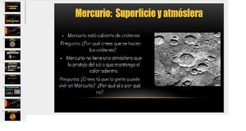 Solar System Unit Bundle: English and Spanish