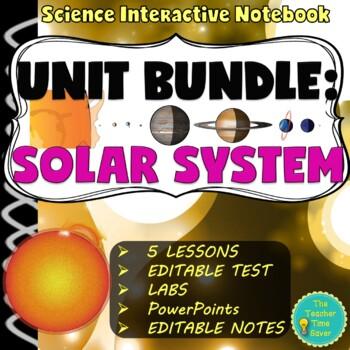 Solar System/Astronomy Unit Bundle- Earth Science