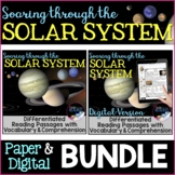 Solar System Unit, Differentiated Reading Passages: Digita