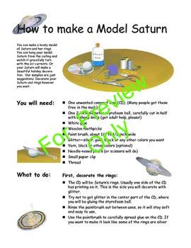 Solar System Unit Grades 3-6