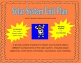 Solar System Unit Plan