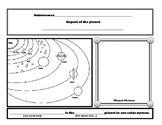 Solar System Unit- Student Planet Report