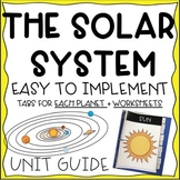 Solar System--Unit Study for K and 1st grade--Interactive Journal/Binder