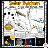 Solar System Unit With Space Activities Constellations ,Solar System and Planets