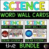 Solar System Vocabulary Cards BUNDLE