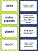 Solar System Vocabulary Matching Activity - Set of 30