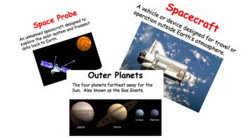 Solar System Vocabulary Mini-Posters