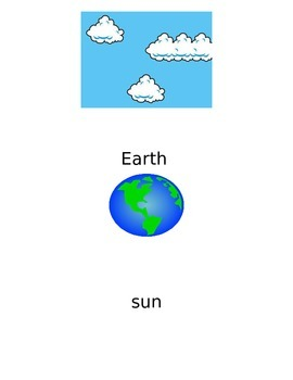 Solar System Vocabulary Primary Grades