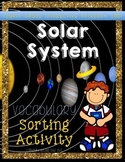 Solar System Vocabulary Sort