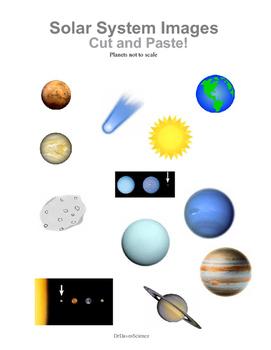 Solar System Vocabulary Words