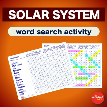 Solar System * Warm Up * Bell Ringer * Word Search Activity *