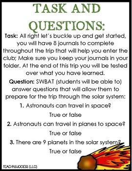 Solar System Web-Quest