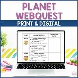 Planet WebQuest - NO PREP!