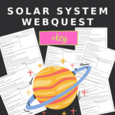 Solar System WebQuest- WITH KEY