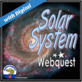 Solar System Webquest w/ TPT Digital Activity Distance Learning