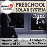 Preschool Space Solar System Printables (Week 21)