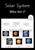 Solar System Who Am I? Cards