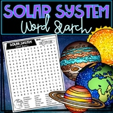 Solar System Word Search!