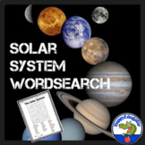 Solar System Word Search Puzzle