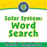 Solar System: Word Search - MAC Gr. 5-8