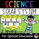 Solar System Worksheets For Special Education