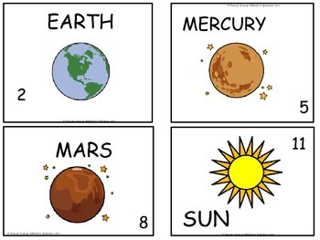 Solar System Write the Room & Activities