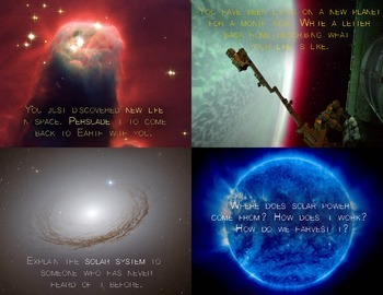 Solar System Writing Prompts