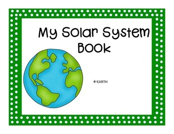 Solar System - a mini book