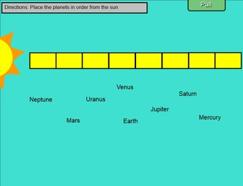 Solar System and Moon Phases SmartBoard Review